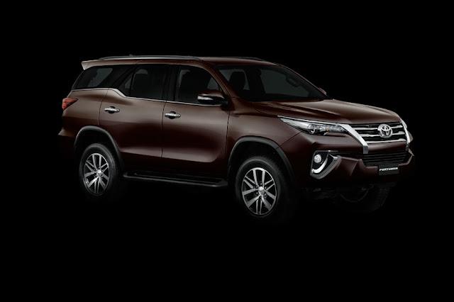All New Toyota Fortuner 2015 dengan desain baru