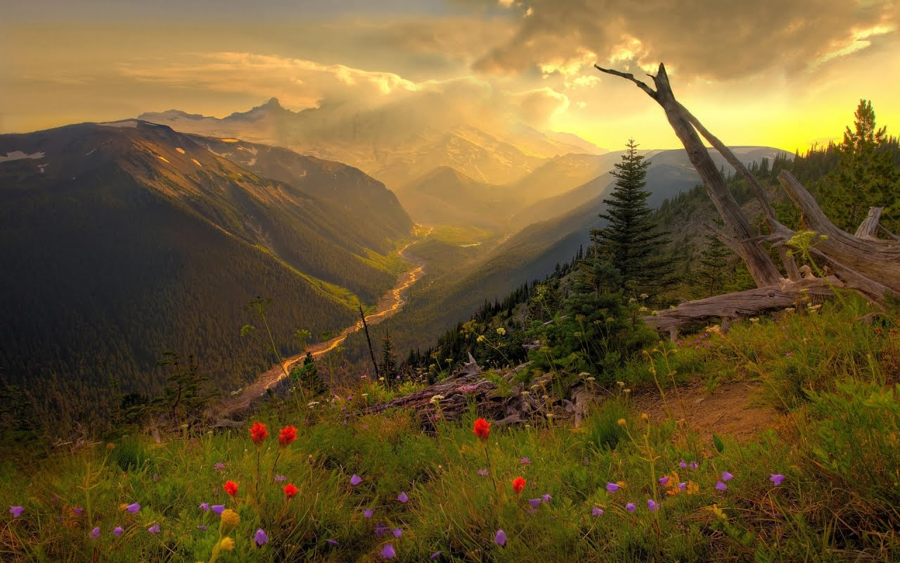 Красива долина, HD Wallpaper