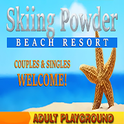 Skiing Powder Beach Resort