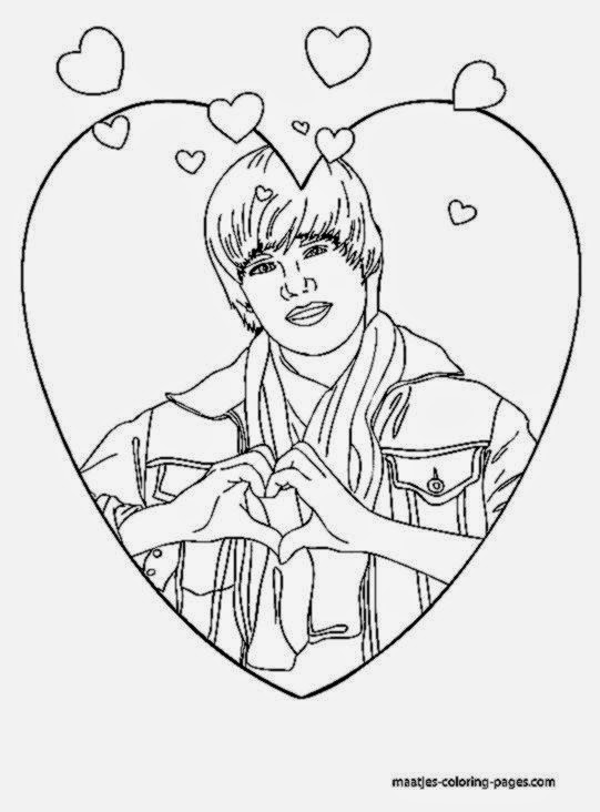 justin bieber coloring pages 2013 - photo#8