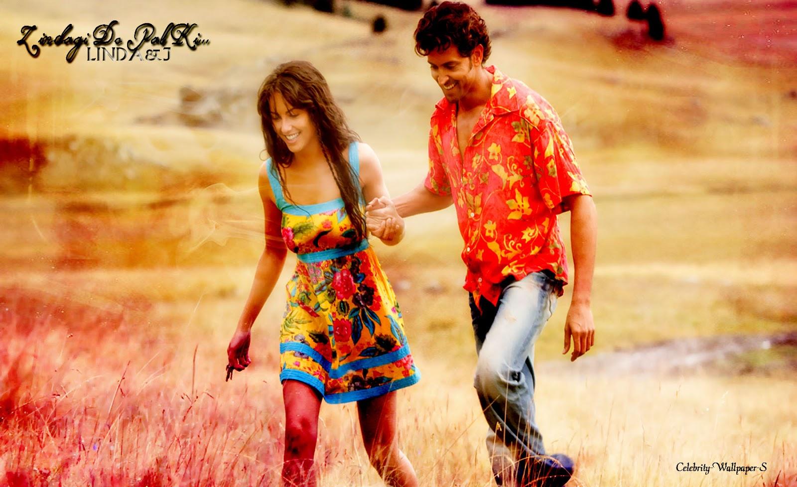 Hrithik Roshan Barbara Mori Kites Wallpaper HD