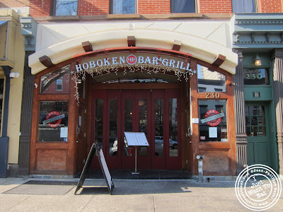 Image of Entrance of Hoboken Bar and Grill in Hoboken, NJ