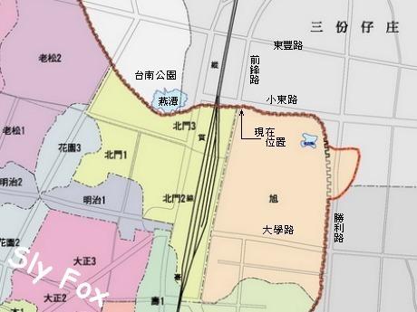 台南小東路城牆護城河