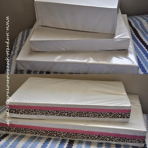 Suficiente DIY - Bandejas de Papelão | Surpresas para Namorados OL11