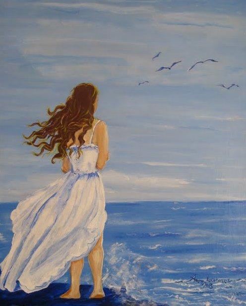 Attimi di colori, poesia e altro: Tra cielo e mare