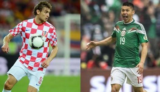 Kroasia vs Meksiko
