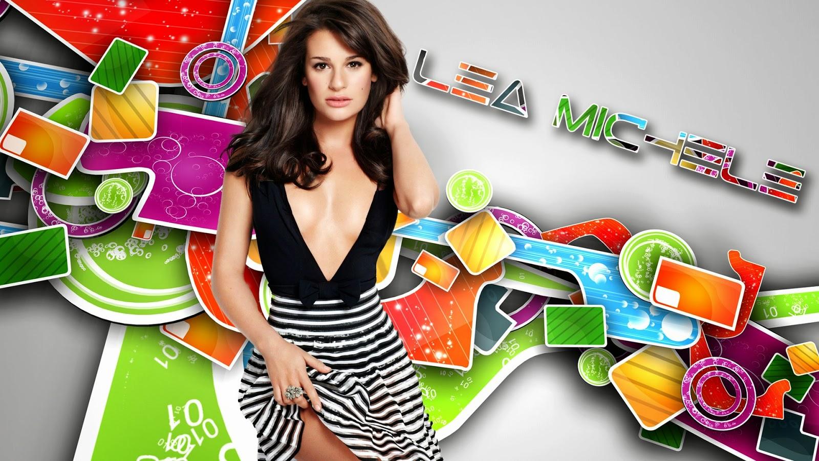 Lea Michele Hot stunning hd Wallpaper