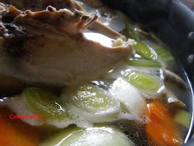 Куриный бульон (основа для соусов)