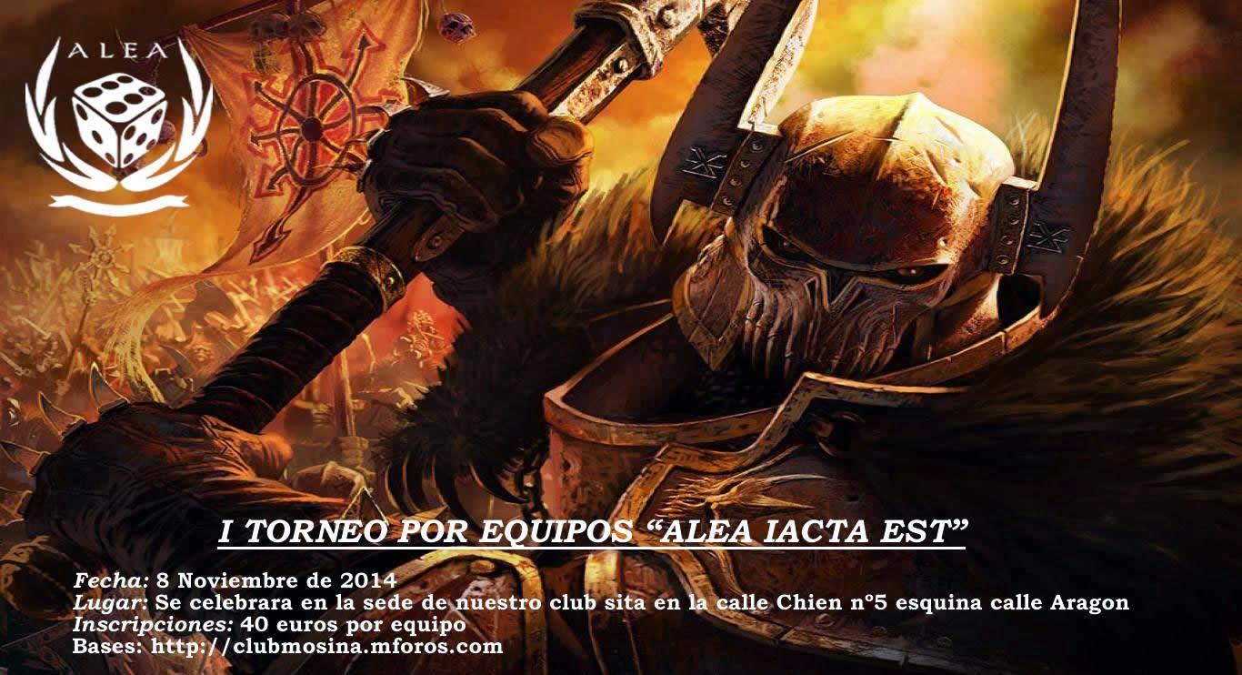 """I Torneo por equipos """"Alea Iacta Est"""""""