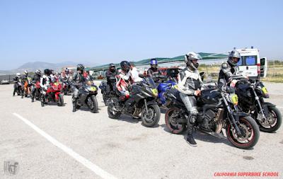 Το California Superbike School ανακοινώνει το τελευταίο Σχολείο της χρονιάς στη πίστα των Μεγάρων