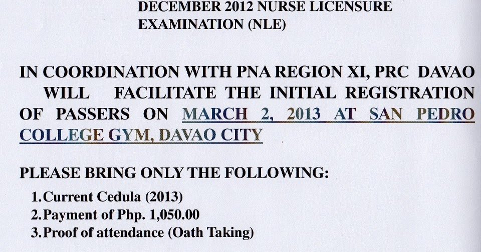 room comment for authorship room assignment for nursing board exam december 2013 mesa december 2013