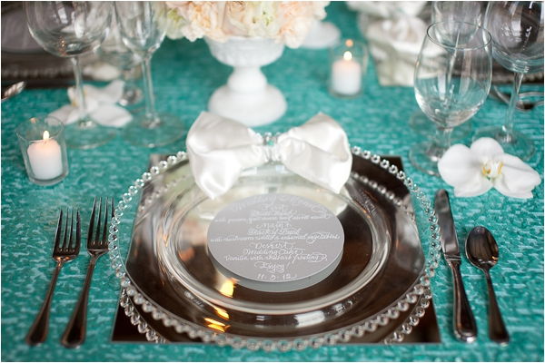 Elegant Turquoise And Grey Wedding Inspirational Shoot By
