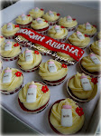 Red Velvet Cupcakes for Aqiqah