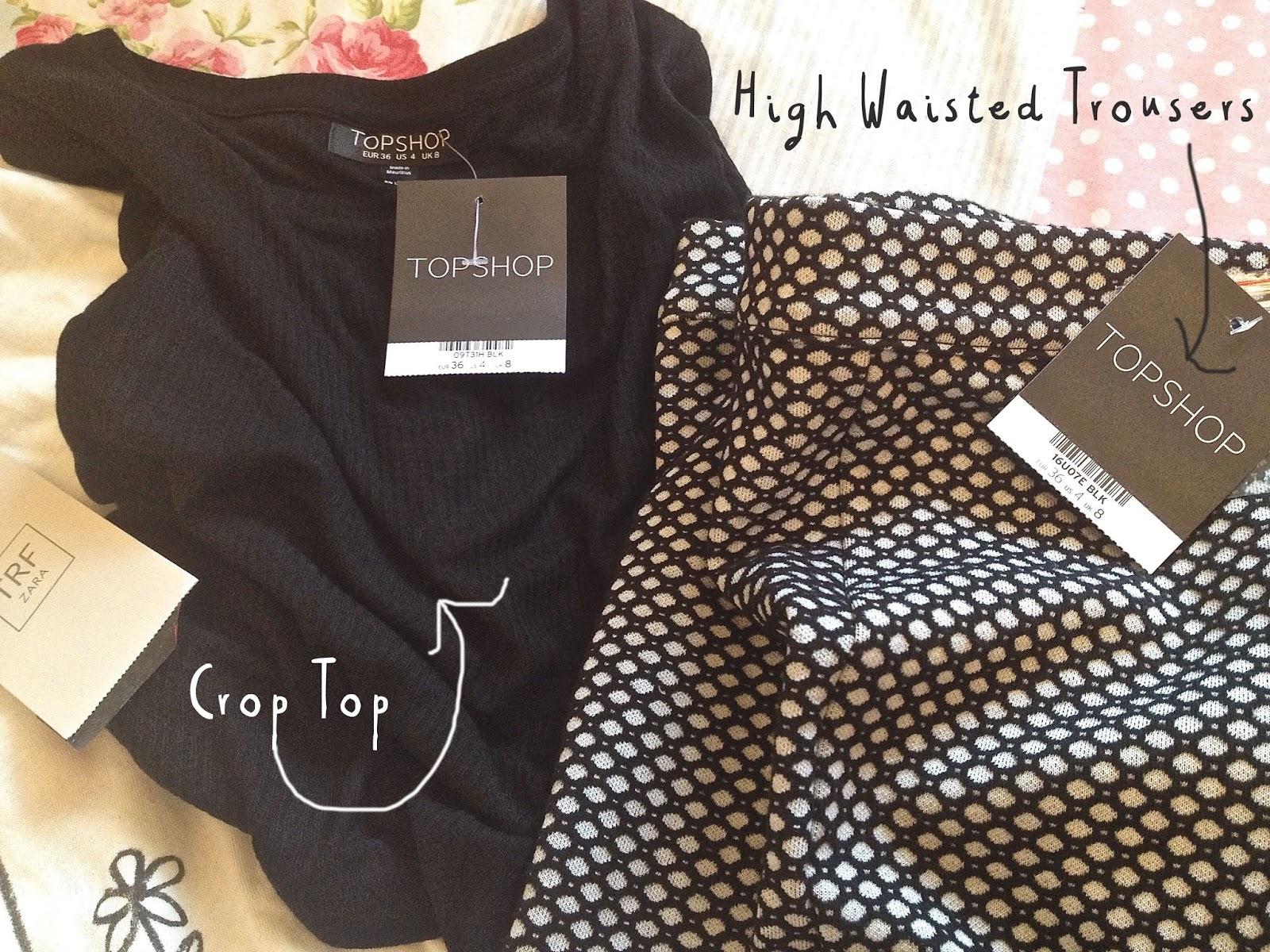 topshop blog haul