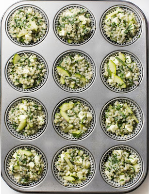 Zelenjavne ajdove tortice brez glutena pekač