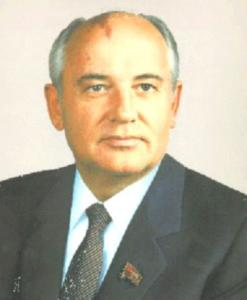 Mikhail Sergeyevich Gorbachyov