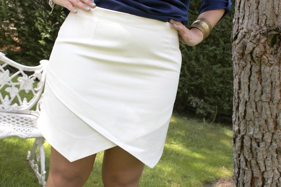 Aprender a coser faldas: la cintura de la falda