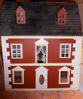 miniaturas mueble pintado a mano