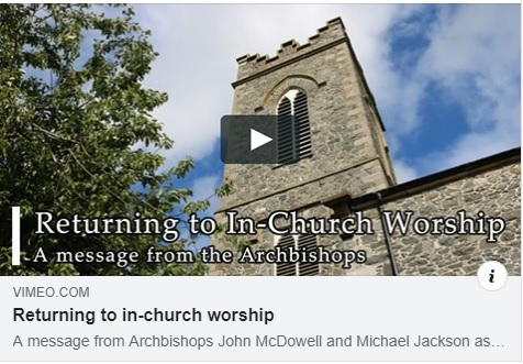 Returning to In Church Worship