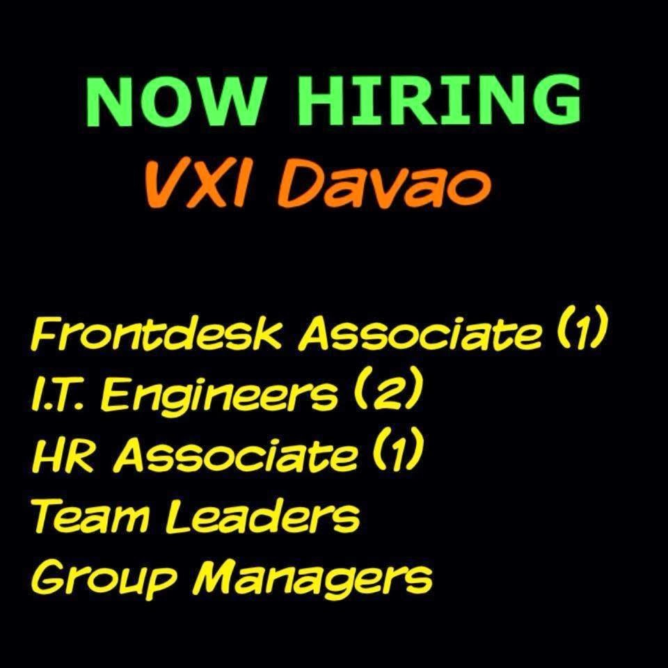 Branch Manager for Davao Comglasco Aguila Glass Corporation - Davao del Sur. Resources hiring, training, coaching, evaluating, motivating teamwork Administrative functions store appearance repairs and maintenance, supplies, document compliance, cleanliness Safety and security Hiring Davao City jobs.
