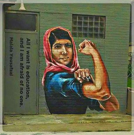 (malala yousufzai, por una mujer librenominada al nobel de la paz)