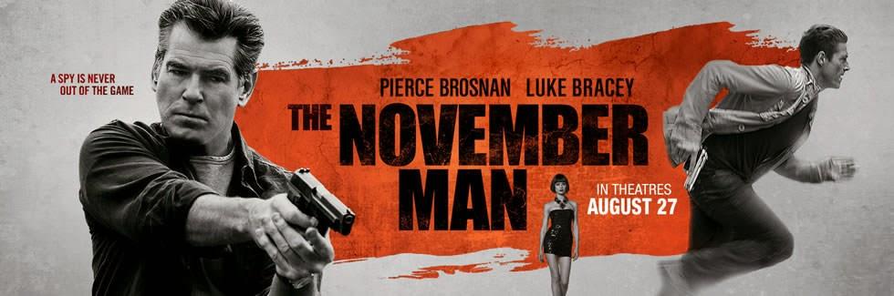 November Man poster widescreen