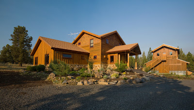 New solar home located in Oregon