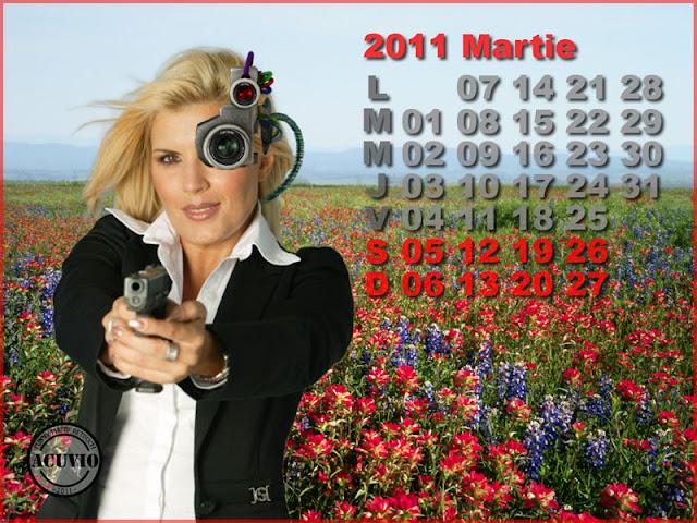 Funny postcard Martie Elena Udrea
