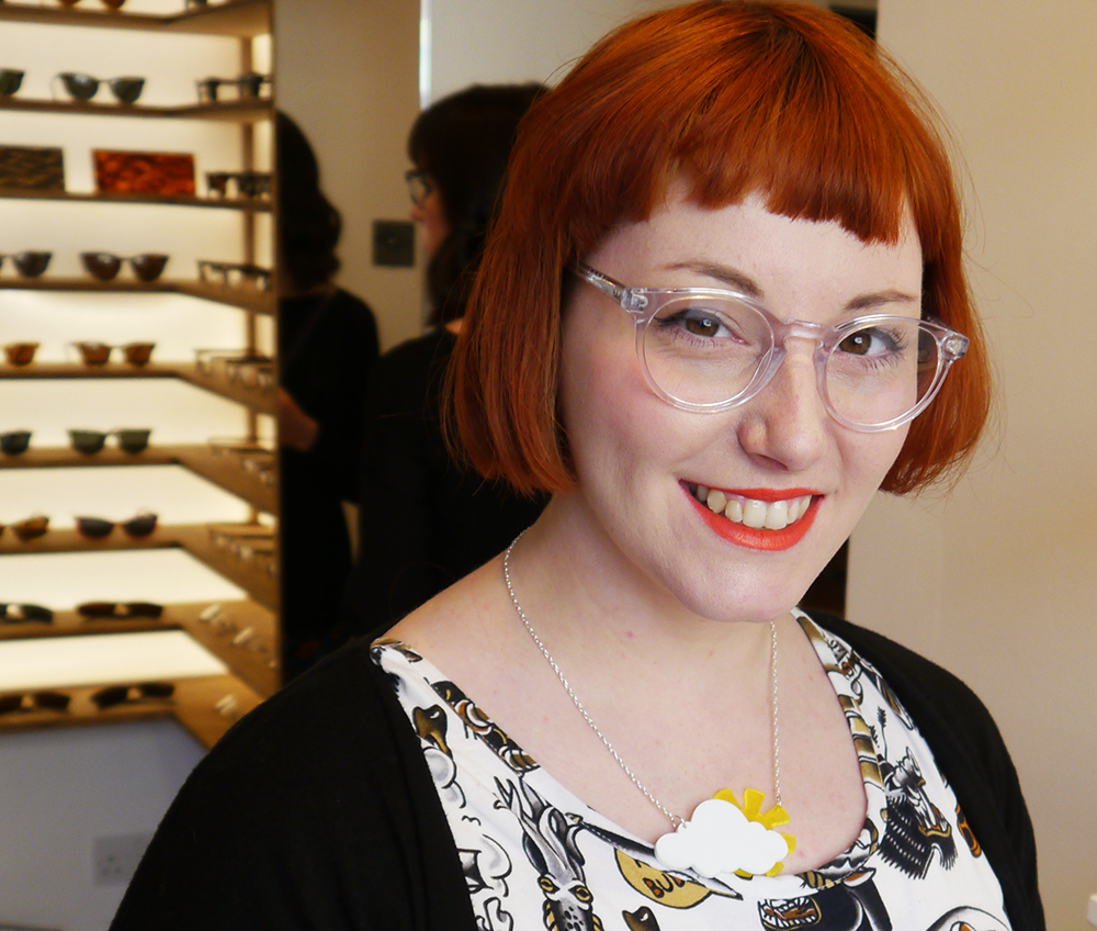 IOLLA, eyewear, affordable glasses, Bell frame, Sugar and Vice necklace, Glasgow, show room, Finnieston, blogger favourite