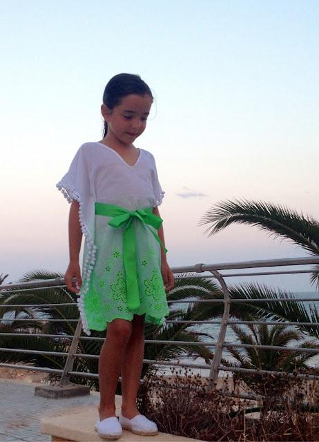 Túnica playera niña #tutorial #PequeñaFashionista