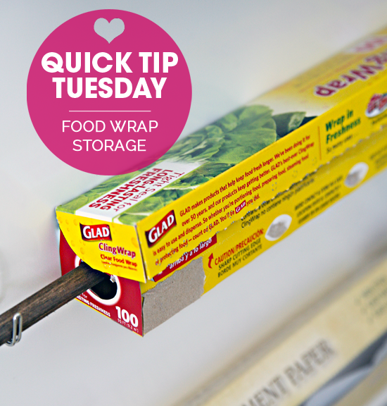 Iheart organizing quick tip tuesday food wrap storage for I heart organizing