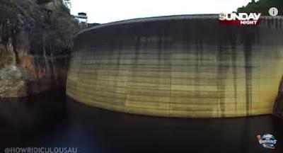 Gordon Dam (Screenshot from the video)