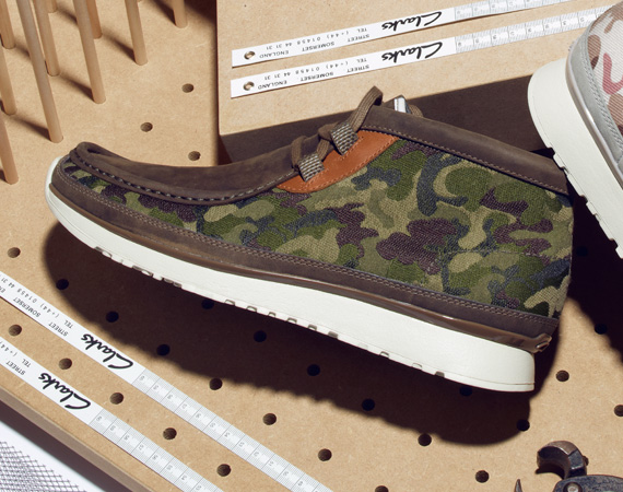 Clarks Camouflage