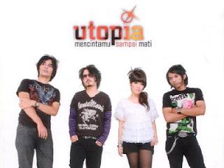 Lirik Lagu Mencintaimu Sampai Mati - Utopia