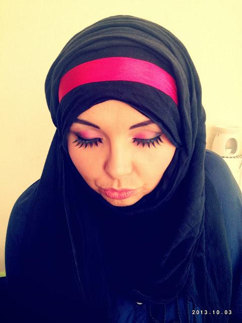 Trochę koloru + arabska stylizacja