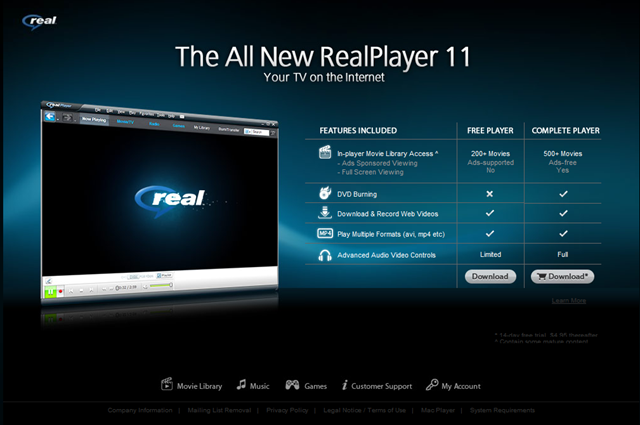 real player 2011