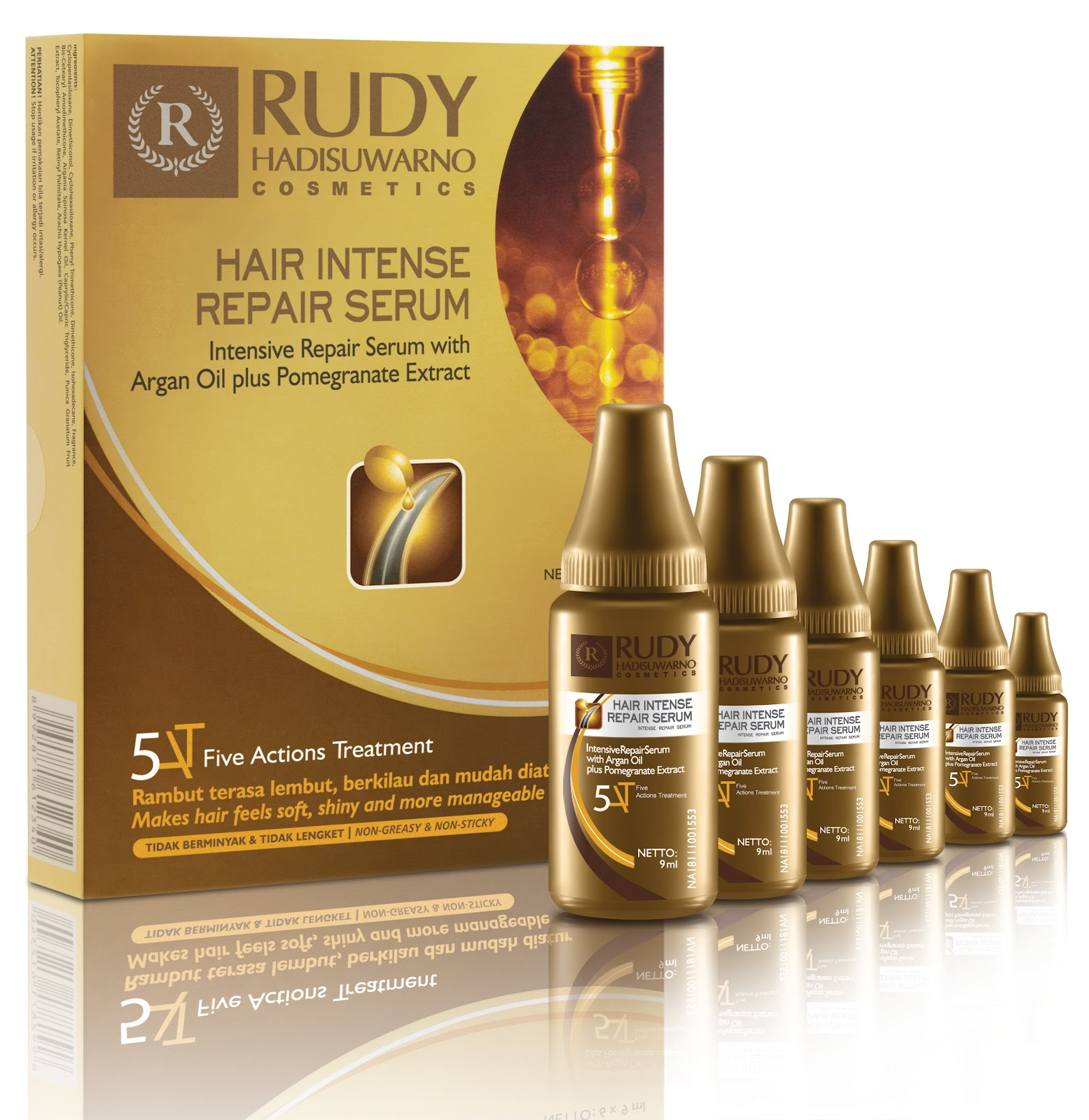 Event Rudy Hadisuwarno Hair Intense Repair Serum Launching Two