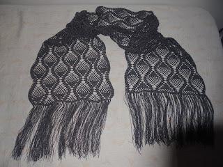 echarpe a crochet