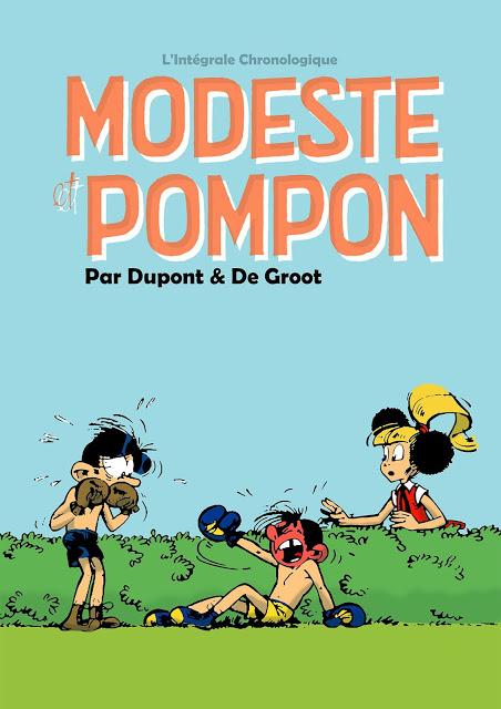 Modeste et Pompon - L'intégrale.chronologique 1955-1980 (dans Tintin Ed. Belge) [Bibliotheca Virtua