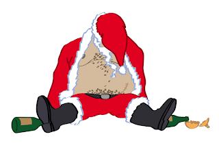 Typically Drunk Santa Claus