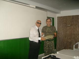 Matéria completa de CQC no Tiro de Guerra em Saj Ba.