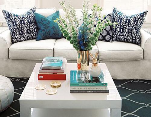 decoracao mesa branca:Décorer: Mesa de centro e mesa lateral Super sugestões =)