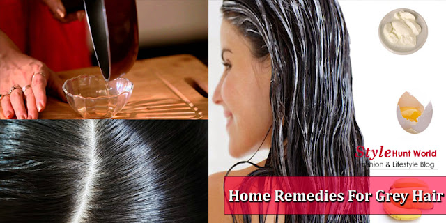 Natural Home Remedies For Grey Hair At Home
