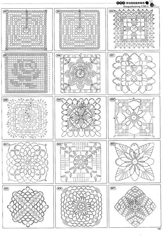Site De Crochet : Receitas de Crochet: Mais de 1000 motivos de crochet