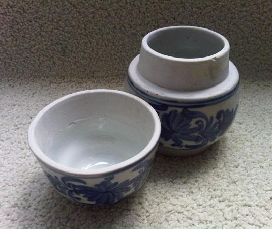 karya babah antik cepuk keramik biru putih