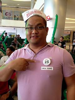#KKnowinSMSeaside, Krispy Kreme Doughnuts, Krispy Kreme SM Seaside City, SM Seaside City, Original Glazed, Krispy Kreme Philippines, Carlo Olano, Kalami Cebu