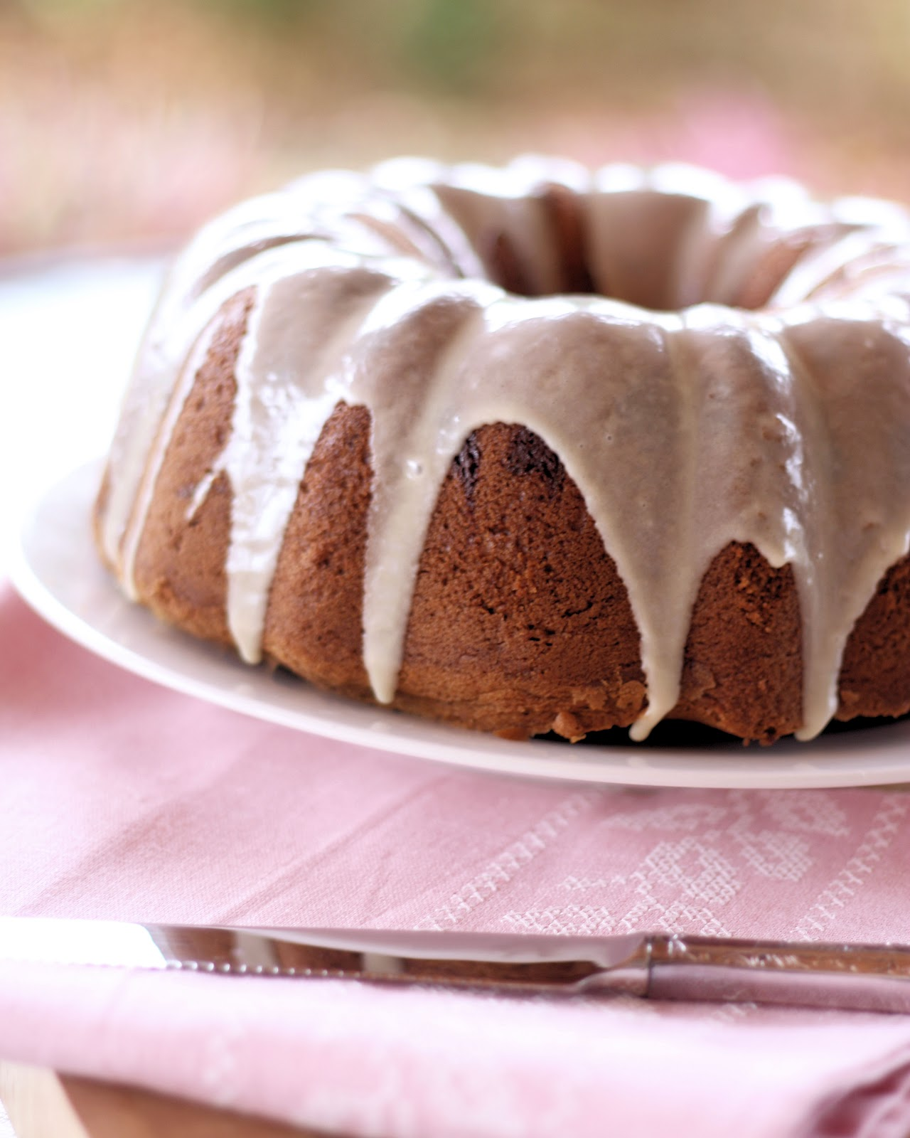 Pound Cake With Maple Glaze Recipe — Dishmaps