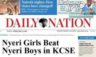 Kcse results 2011 top 100 schools in the us