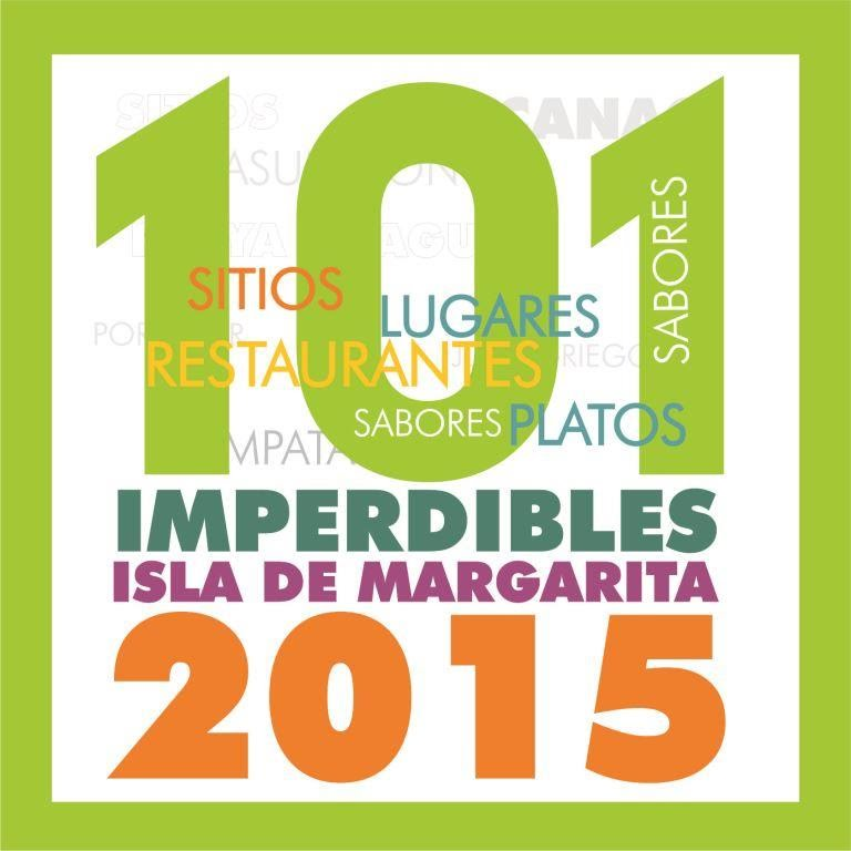 101 IMPERDIBLES DE MARGARITA 2015