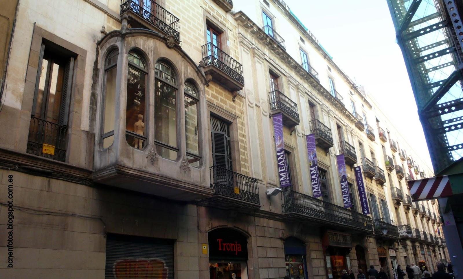 Mi barcelona el barrio de santa catalina y san agust n ii - Calle princesa barcelona ...
